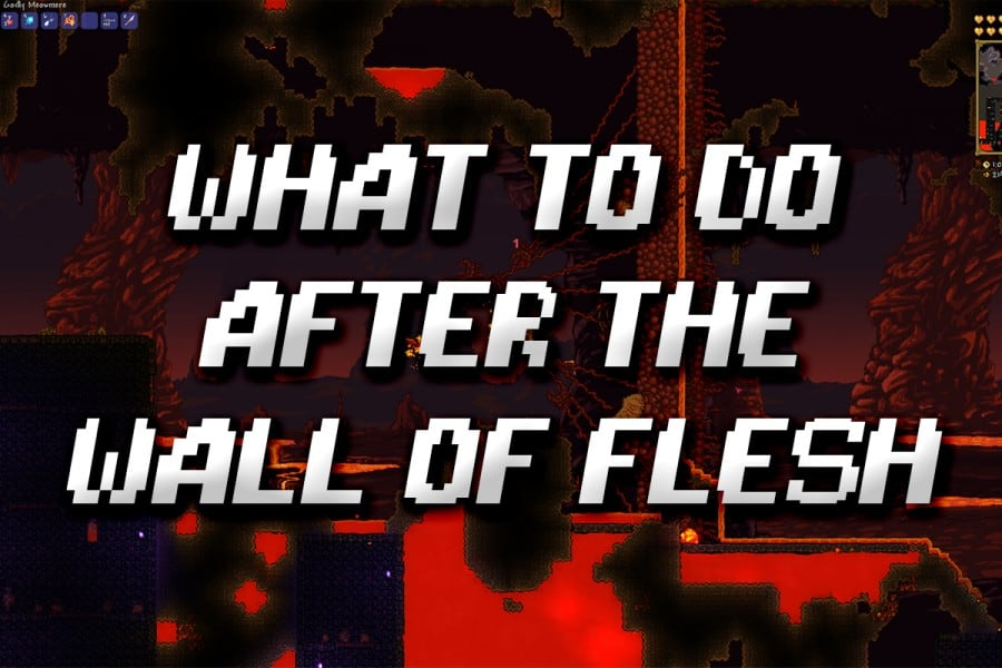 What To Do After Defeating The Wall Of Flesh Terraria Game Voyagers Solar power to run a home server. the wall of flesh terraria
